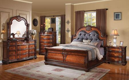 Acme Furniture 22310Q5PCSET Nathaneal Queen Bedroom Sets