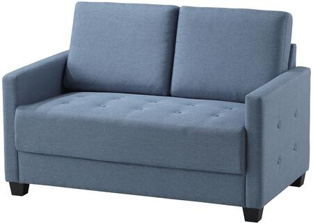 Glory Furniture G774L Fabric Stationary Loveseat