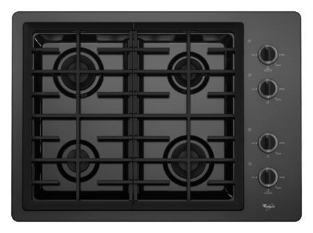 Whirlpool W5CG3024XB  Gas Sealed Burner Style Cooktop, in Black