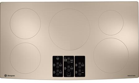 "GE Monogram ZHU36RSRSS 36"" 5 Element Yes Cooktop, in White"