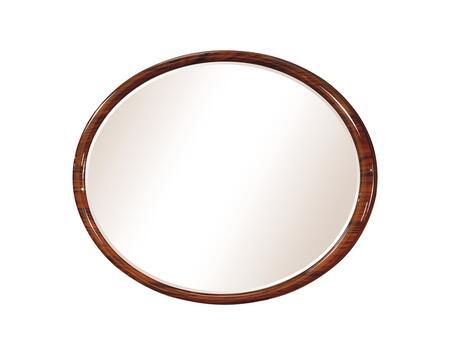 Global Furniture USA AUTUMNM Autumn Series Round Both Dresser Mirror