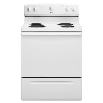 "Amana ACR3130BAW 30"" Electric Freestanding 