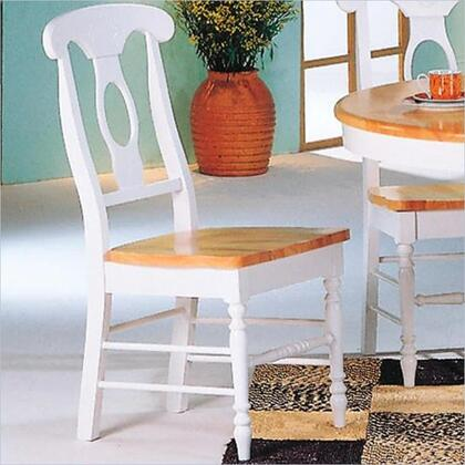 Coaster 4117 Damen Series Traditional Wood Frame Dining Room Chair