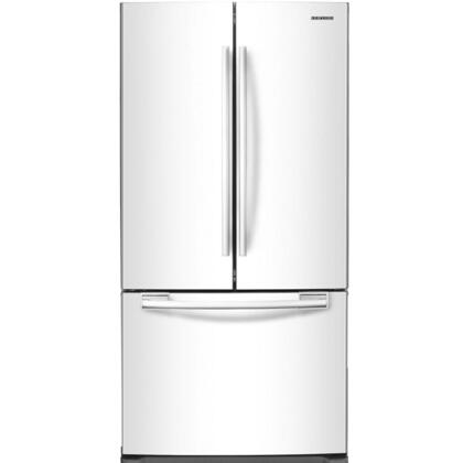 "Samsung Appliance RF18HFENBxx 33"" Wide French Door Refrigerator with 18 Cu. Ft. Capacity, 2 Humidity-Controlled Crispers, Automatic Filtered Ice Maker, Power Freeze, Power Cool, and Twin Cooling System:"