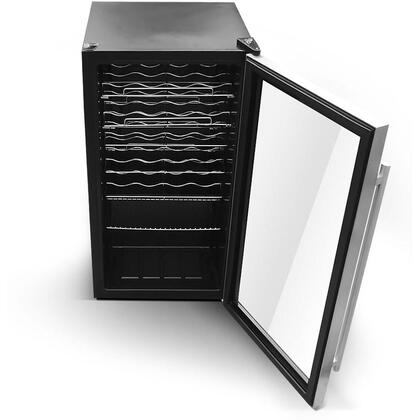 Wine Cooler in Black Finish