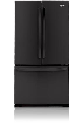 LG LFC25776SB  French Door Refrigerator with 25 cu. ft. Total Capacity 4 Glass Shelves