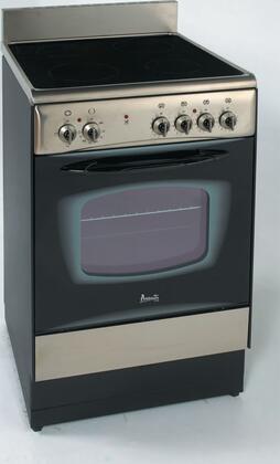 "Avanti DER241BS 24"" Elite Series Electric Freestanding"