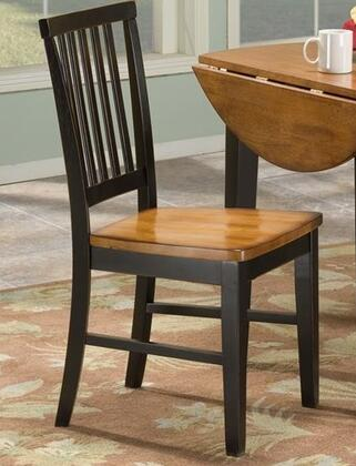 Intercon Furniture Arlington ARCH180 Dining Room Slat Back Side Chair