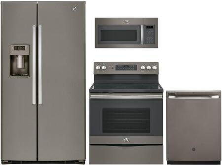 GE 869769 Slate Kitchen Appliance Packages