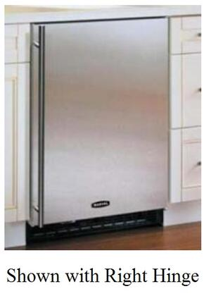 Marvel 61ARMBSFL  Built In Counter Depth Compact Refrigerator with 5.93 cu. ft. Capacity, 2 Wire Shelves