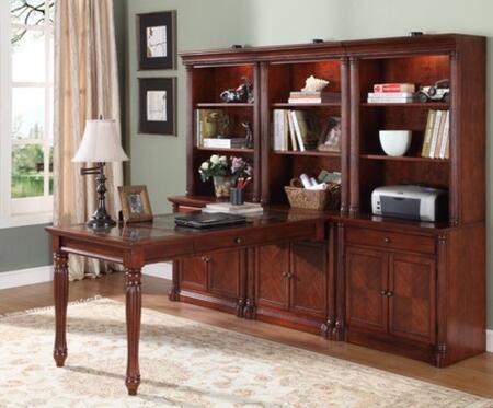 Legends Furniture ZJM6002 Monte Cristo Series  Bookcase