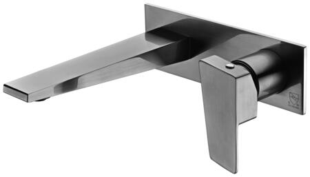 Alfi AB1472-X Wall Mounted Bathroom Faucet with Brass, Valve, Single Lever Control, User-Friendly Installation and 5 Year Warranty in