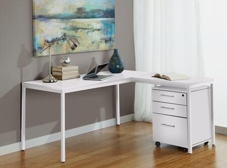 Unique Furniture 1C100019PWH  Office Desk