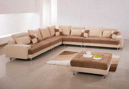 VIG Furniture VGHOG60B  Fabric Sofa