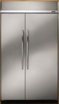 Dacor EF48NBSS Built In Side by Side Refrigerator