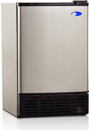 Whynter UIM155  Freestanding and Built-In Ice Maker with 12 lbs Daily Ice Production, 6 lbs Ice Storage, in Stainless Steel