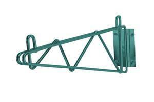 14 inches Single Green Wall Bracket