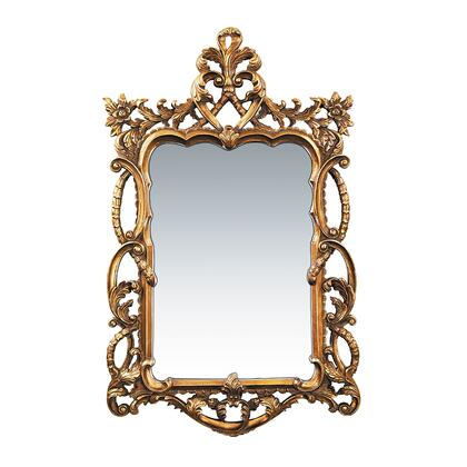 Sterling 401704M Floral Scroll Series Rectangle Portrait Wall Mirror