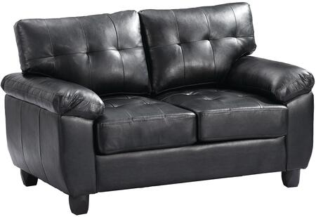 Glory Furniture G903AL Faux Leather Stationary Loveseat