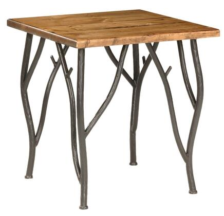Stone County Ironworks 903-023 Woodland Side Table