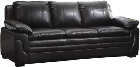 Glory Furniture G283S  Stationary Faux Leather Sofa