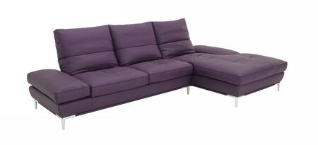 VIG Furniture VGKK1307HL  Sofa and Chaise Leather Match Sofa
