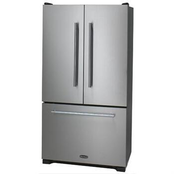 Heartland HLTXT36FDSS Toledo Series  French Door Refrigerator with 19.8 cu. ft. Capacity in Stainless Steel