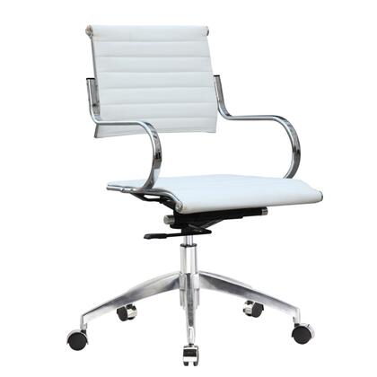Fine Mod Imports FMI10209 Flees Office Chair Mid Back