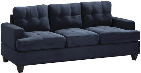 Glory Furniture G510AS  Stationary Suede Sofa