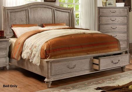 Furniture of America CM7613CKBED Belgrade I Series  California King Size Bed