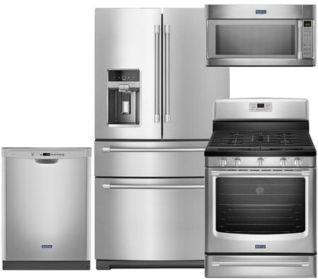 Maytag MY4PCFSFDGFCSSKIT2 Kitchen Appliance Packages