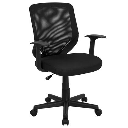"Flash Furniture LFW95ABKGG 24.5"" Contemporary Office Chair"