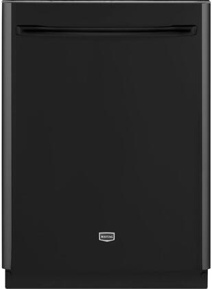 """Maytag Jetclean Plus MDB7759SA 24"""" Fully Integrated Built In Dishwasher With 6 Cycles, 53 dBA, Auto Clean Cycle, Steam Sanitize Option, Tiered Upper Rack, and a Stainless Steel Interior In"""