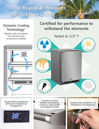 Outdoor Refrigeration Features