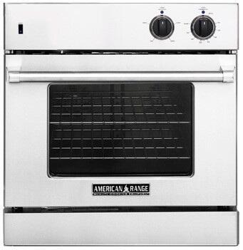 American Range AROSG30LPBK Single Wall Oven, in Black