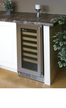 """Perlick HP15WS4LDNU 14.875"""" Freestanding Wine Cooler"""