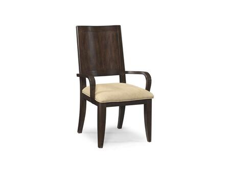Klaussner 975905 Serenade Series Contemporary Microfiber Wood Frame Dining Room Chair