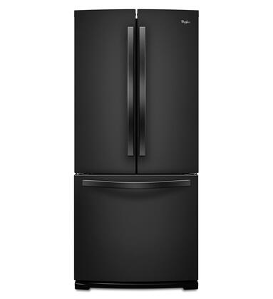 "Whirlpool WRF560SMY 30"" French Door Refrigerator with 19.7 Cu. Ft. Capacity, SpillSaver Glass Shelves, FreshFlow Produce Preserver, Condiment Caddy, and Factory Installed Automatic Icemaker:"