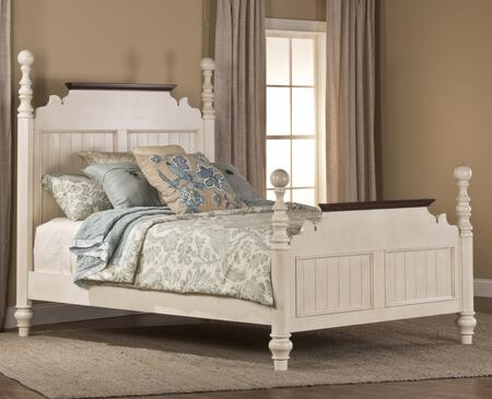 Hillsdale Furniture 1052BKRP Pine Island Series  King Size Poster Bed