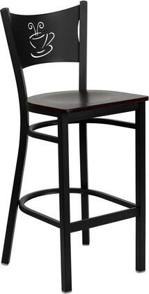 Flash Furniture XUDG60114COFBARMAHWGG Hercules Series Not Upholstered Bar Stool