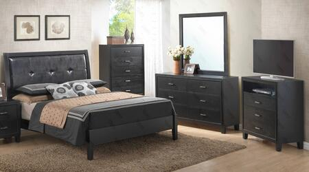 Glory Furniture G1250AFBDMTV G1250 Full Bedroom Sets