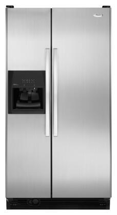 Whirlpool ED5FVGXWS Freestanding Side by Side Refrigerator