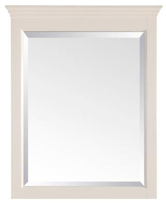 """Avanity Tropica TROPICA-M24-AX 24"""" Mirror with Beveled Edge, Poplar Solid Wood Frame, and Wood Cleat at Back For Easy Hanging"""