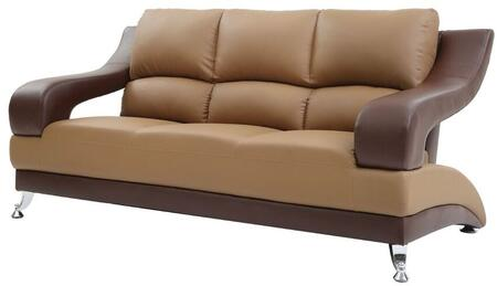 Glory Furniture G255S  Stationary Faux Leather Sofa