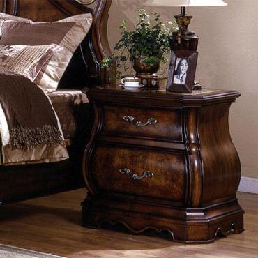 Yuan Tai SH2223N Shevon Series Rectangular Wood Night Stand