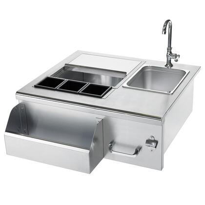 """RCS XBC1 30"""" Stainless Steel Bevearge Center"""