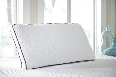 Signature Design by Ashley M82xxx Set of 2 X Size Dual Side Pillow with Ventilated Memory foam  and Traditional Style in White