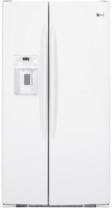 GE PSHF9PGZWW Freestanding Side by Side Refrigerator