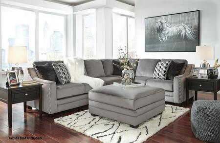Milo Italia MI592566449SETCHAR Lillianna Living Room Sets