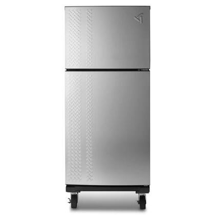 "Whirlpool GARF19XXYK 30"" Gladiator Series Refrigerator with 19.04 cu. ft. Capacity in Silver"